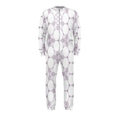 Density Multi Dimensional Gravity Analogy Fractal Circles Onepiece Jumpsuit (kids)