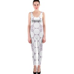 Density Multi Dimensional Gravity Analogy Fractal Circles OnePiece Catsuit