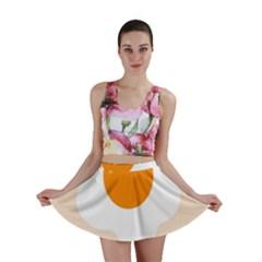 Egg Eating Chicken Omelette Food Mini Skirt