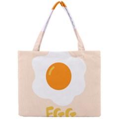 Egg Eating Chicken Omelette Food Mini Tote Bag