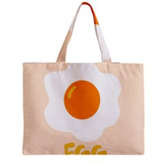 Egg Eating Chicken Omelette Food Medium Tote Bag