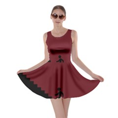 Walking Stairs Steps Person Step Skater Dress