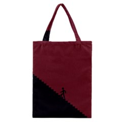 Walking Stairs Steps Person Step Classic Tote Bag