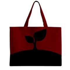 Plant Last Plant Red Nature Last Zipper Mini Tote Bag