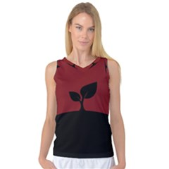 Plant Last Plant Red Nature Last Women s Basketball Tank Top