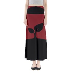 Plant Last Plant Red Nature Last Maxi Skirts