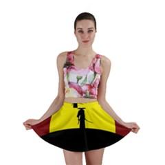 Samurai Warrior Japanese Sword Mini Skirt
