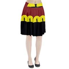 Samurai Warrior Japanese Sword Pleated Skirt