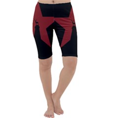 Buck Dear Animal Character Nature Cropped Leggings