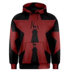 Buck Dear Animal Character Nature Men s Pullover Hoodie