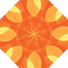 Abstract Orange Yellow Red Color Folding Umbrellas