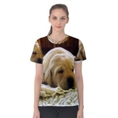 2 Puppy Yl Women s Cotton Tee