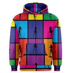 Girls Fashion Fashion Girl Young Men s Zipper Hoodie