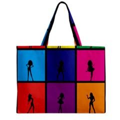 Girls Fashion Fashion Girl Young Zipper Mini Tote Bag