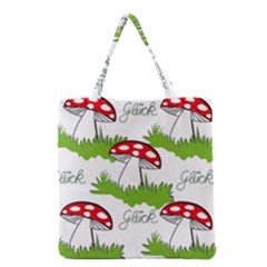 Mushroom Luck Fly Agaric Lucky Guy Grocery Tote Bag