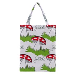 Mushroom Luck Fly Agaric Lucky Guy Classic Tote Bag