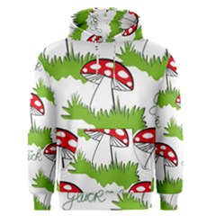Mushroom Luck Fly Agaric Lucky Guy Men s Pullover Hoodie