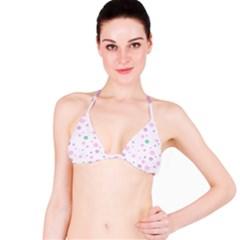 Decorative dots pattern Bikini Top