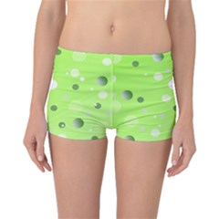 Decorative Dots Pattern Boyleg Bikini Bottoms