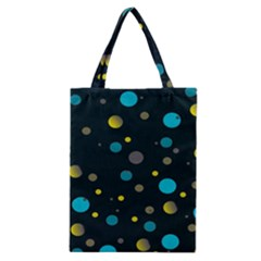 Decorative dots pattern Classic Tote Bag