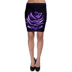 Rose Flower Design Nature Blossom Bodycon Skirt