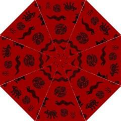Aztecs pattern Golf Umbrellas
