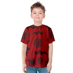 Aztecs pattern Kids  Cotton Tee