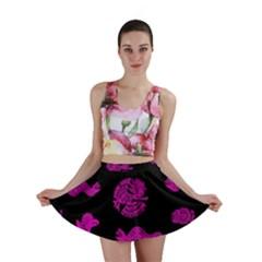 Aztecs pattern Mini Skirt
