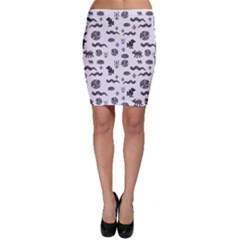 Aztecs pattern Bodycon Skirt