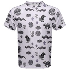 Aztecs pattern Men s Cotton Tee