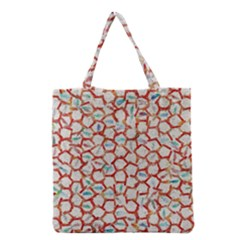 Honeycomb pattern             Grocery Tote Bag
