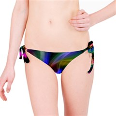 Abstract Art Color Design Lines Bikini Bottom