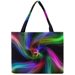 Abstract Art Color Design Lines Mini Tote Bag