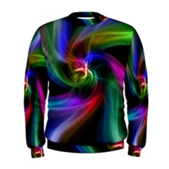 Abstract Art Color Design Lines Men s Sweatshirt