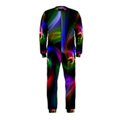 Abstract Art Color Design Lines Onepiece Jumpsuit (kids)