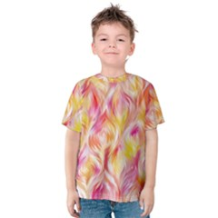 Pretty Painted Pattern Pastel Kids  Cotton Tee