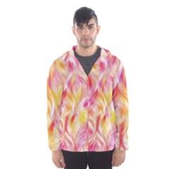 Pretty Painted Pattern Pastel Hooded Wind Breaker (men)