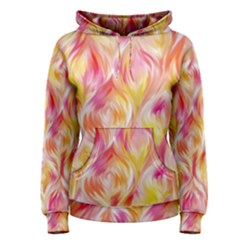 Pretty Painted Pattern Pastel Women s Pullover Hoodie