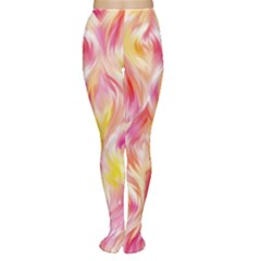 Pretty Painted Pattern Pastel Women s Tights