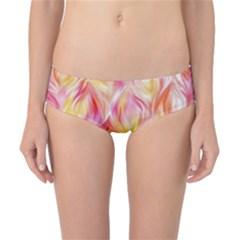 Pretty Painted Pattern Pastel Classic Bikini Bottoms