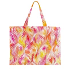 Pretty Painted Pattern Pastel Large Tote Bag