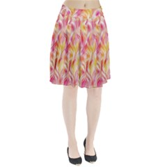Pretty Painted Pattern Pastel Pleated Skirt