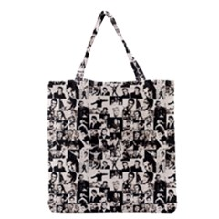 Elvis Presley pattern Grocery Tote Bag