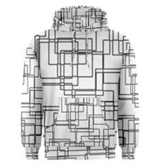 Structure Pattern Network Men s Pullover Hoodie