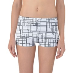 Structure Pattern Network Boyleg Bikini Bottoms