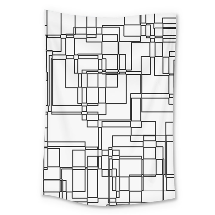 Structure Pattern Network Large Tapestry