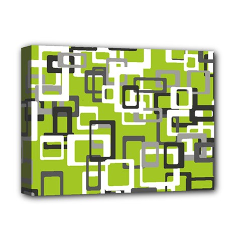 Pattern Abstract Form Four Corner Deluxe Canvas 16  X 12