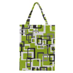 Pattern Abstract Form Four Corner Classic Tote Bag