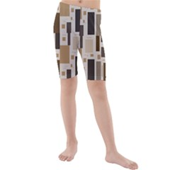 Pattern Wallpaper Patterns Abstract Kids  Mid Length Swim Shorts