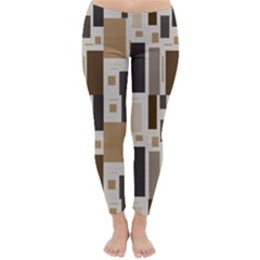 Pattern Wallpaper Patterns Abstract Classic Winter Leggings